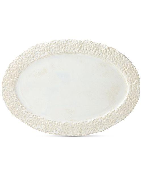 Crafted by Wainwright Lenox-Wainwright Boho Earth Oval Platter, Created for Macy's
