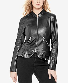 889b673b5 Guess Leather Jacket: Shop Guess Leather Jacket - Macy's