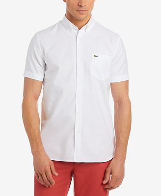 Lacoste Men S Oxford Shirt Reviews Casual Button Down Shirts