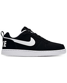 Nike Men's Court Borough Low Premium Casual Sneakers from Finish Line
