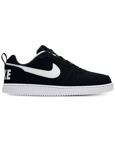 Nike Men's Court Borough Low Premium Casual Sneakers from Finish Line nRMg2M1