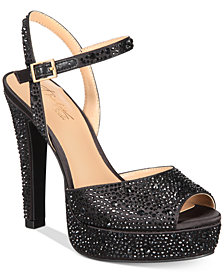 Thalia Sodi Bridget Platform Dress Sandals, Created for Macy's