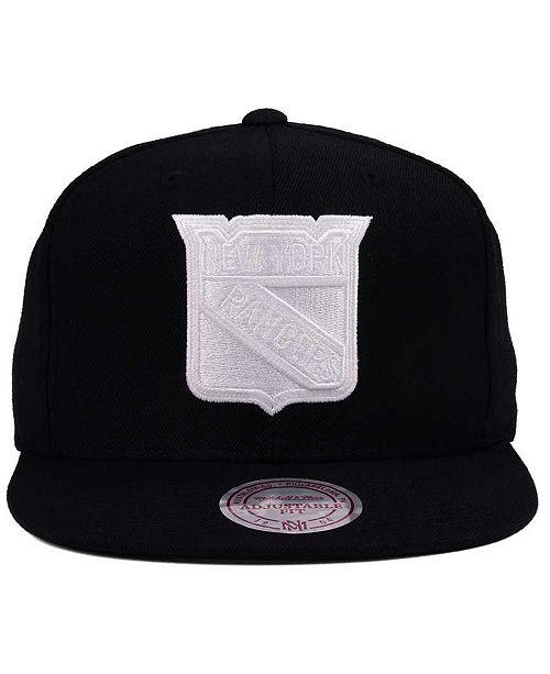 8beb25b8799471 ... Snapback Cap; Mitchell & Ness New York Rangers Respect Snapback ...