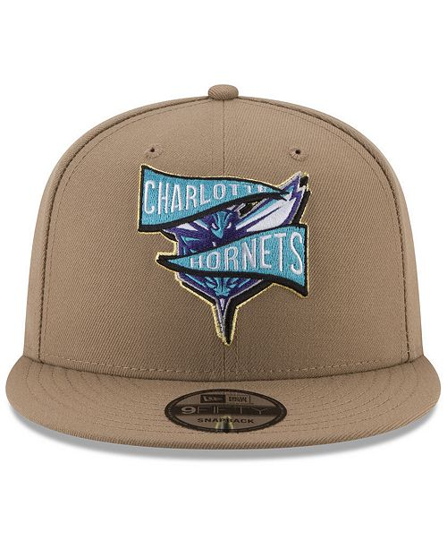 best sneakers 73616 83dd2 ... sale cheap for sale ef0f9 bd9d7 new era charlotte hornets team banner 9fifty  snapback cap sports