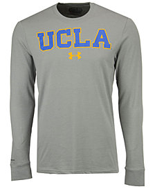 Under Armour Men's UCLA Bruins College Classic Charged Cotton Long Sleeve T-Shirt