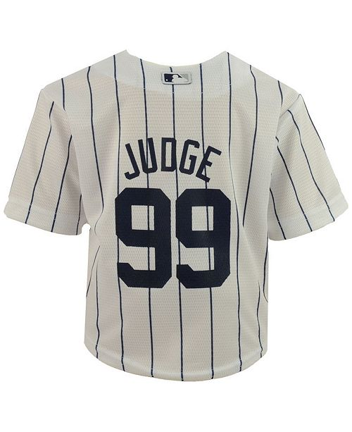 ... Outerstuff Aaron Judge New York Yankees Player Replica Cool Base Jersey c72f2756bbf