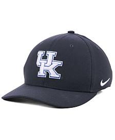 Nike Kentucky Wildcats Anthracite Classic Swoosh Cap