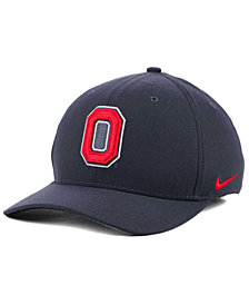 Nike Ohio State Buckeyes Anthracite Classic Swoosh Cap