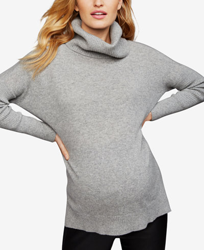 A Pea In The Pod Maternity Cashmere Turtleneck Sweater