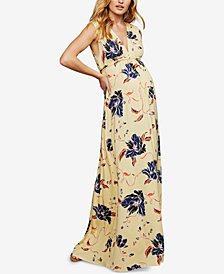 Rachel Pally Maternity Printed Maxi Dress