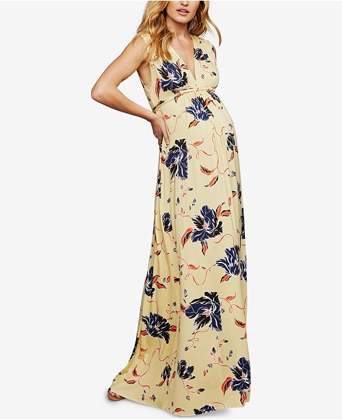 3808a383d26bd Rachel Pally Maternity Printed Maxi Dress & Reviews - Maternity ...