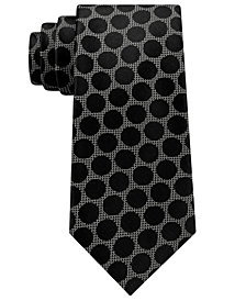 Sean John Men's City Dot Silk Tie