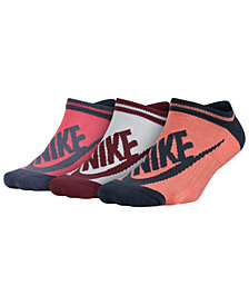 Nike Sportswear 3-Pk. Cotton No-Show Socks