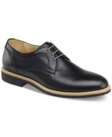 Johnston & Murphy Men's Barlow Plain Toe Lace-Up Oxfords
