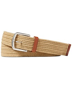 bf9e7ab25061d Polo Ralph Lauren Men's Braided Stretch Belt