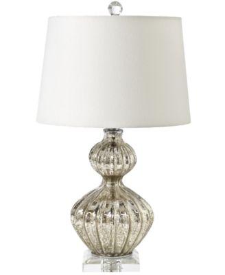 Glass Ripple Table Lamp