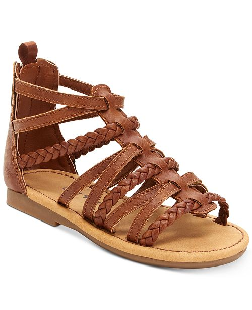 b233b4ed760 Carter s Smile Gladiator Sandals