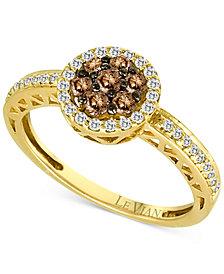 Le Vian Chocolatier® Diamond Ring (1/2 ct. t.w.) in 14k Gold