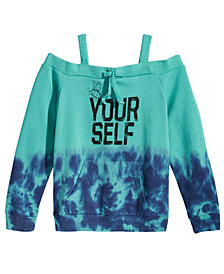 Kandy Kiss Off The Shoulder Sweatshirt, Big Girls