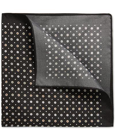 BOSS Men's Patterned Silk Pocket Square