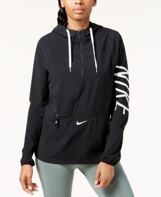 Nike Moitié Veste Pour Dames
