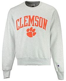 Men's Clemson Tigers Reverse Weave Crew Sweatshirt