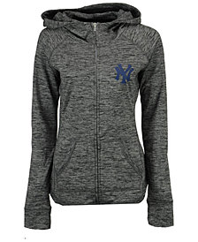 G-III Sports Women's New York Yankees Defender Full-Zip Hoodie