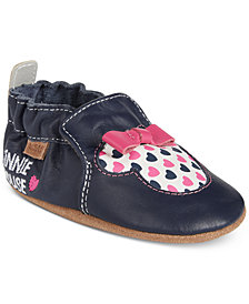 Robeez Minnie Mouse Shoes, Baby Girls (0-4)