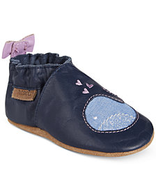Robeez Poppy Whale Shoes, Baby Girls (0-4)