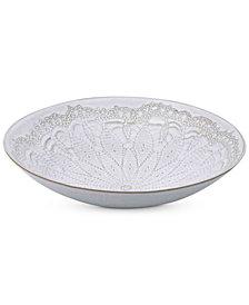 Mikasa Daniela White Vegetable Bowl