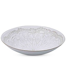 Mikasa Daniela White Vegetable Bowl