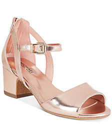 Michael Kors Gemini Jones Dress Sandals, Little Girls & Big Girls