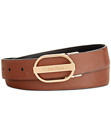 Calvin Klein Leather Reversible Belt