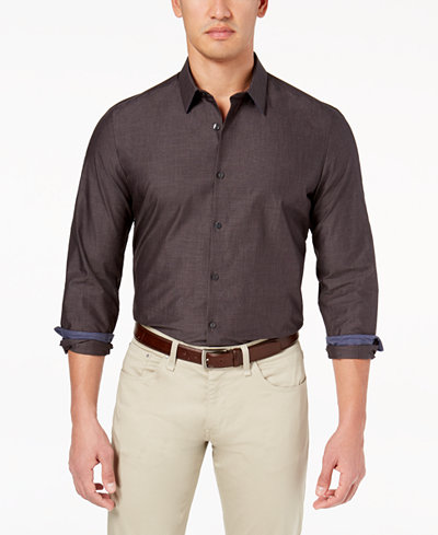 Calvin Klein Men's Chambray Shirt