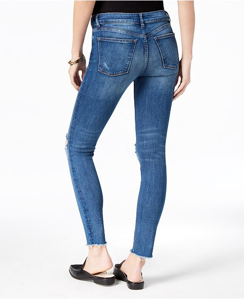 Skinny DL Ripped Lowell Mid Margaux Jeans Instasculpt 1961 DL1961 Rise wwg1v