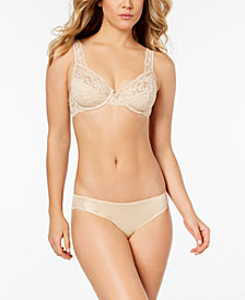 Maidenform Modern Beauty Sheer Lace Demi Bra & Comfort Devotion Tanga