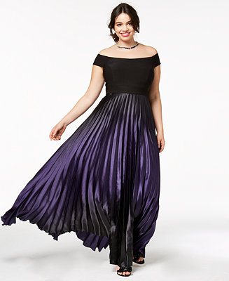 City Chic Trendy Plus Size Passion Ombr 233 Maxi Dress