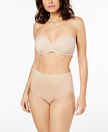 Bali One Smooth U Strapless Bra & Smoothing Brief 2361