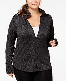 Columbia Plus Size Outerspaced III Zip Jacket
