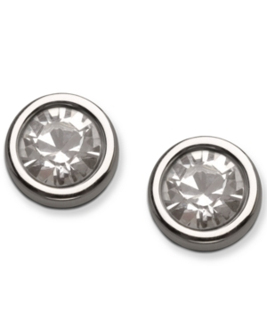 Swarovski Earrings, Harley Crystal Stud