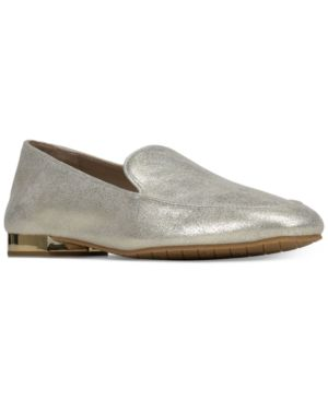Donald Pliner Women's Honey Tumbled Leather & Patent Leather Loafers