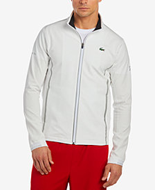 Lacoste Men's Ultra Dry Technical Full-Zip Tennis Jacket