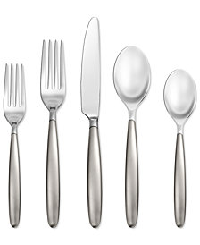 Skandia  Hampton Forge Tidal Frosted 5-Pc. Place Setting, Created for Macy's