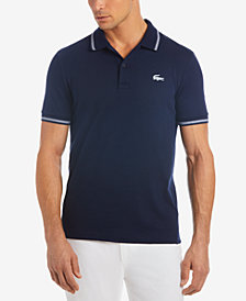 Lacoste Men's Tipped Jersey Polo, Created for Macy's