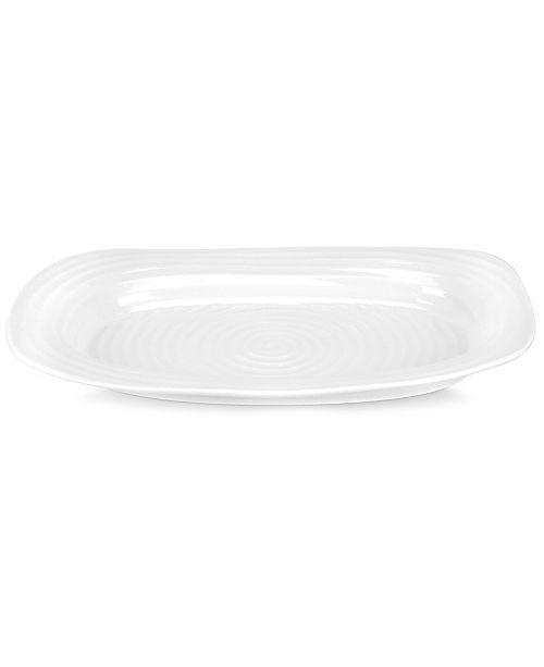 Portmeirion Dinnerware, Sophie Conran White Sandwich Tray