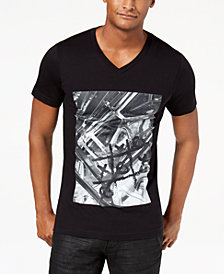 I.N.C. Men's Gear Tac Graphic V-Neck T-Shirt, Created for Macy's