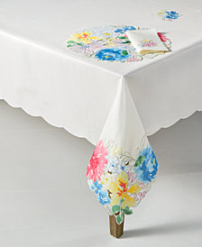 Homewear Beauchamp Floral Cutwork 70'' Round Table Cloth