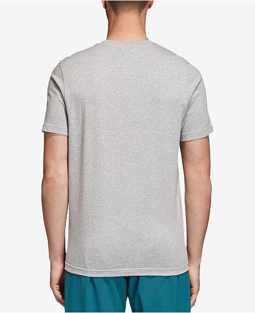 a10cc4ef adidas Men's Trefoil T-Shirt & Reviews - T-Shirts - Men - Macy's