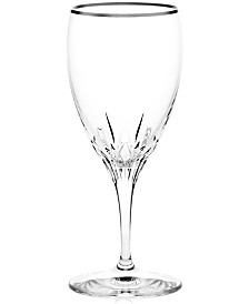 Wedgwood Stemware, Knightsbridge Platinum Iced Beverage Glass