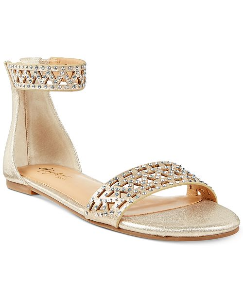 Thalia Sodi Jacey Flat Sandals, Created for Macy's